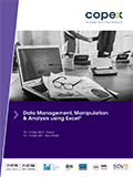 Data Management, Manipulation & Analysis using Excel®