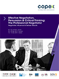 Effective Negotiation, Persuasion & Critical Thinking: The Professional Negotiator