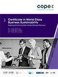 Certificate in World Class Business Sustainability