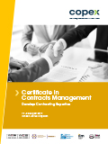 Certificate in Contracts Management