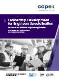 Leadership Development for Engineers Specialisation