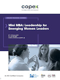 Mini MBA: Leadership for Emerging Women Leaders