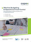 Effective Budgeting & Operational Cost Control