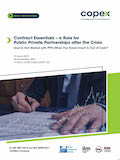 Contract Essentials – a Role for Public Private Partnerships after the Crisis