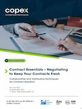 Contract Essentials – Negotiating to Keep Your Contracts Fresh